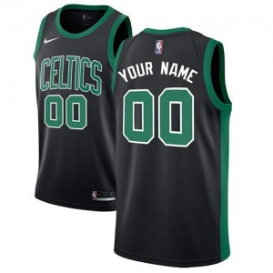 Personnalisé Maillot Boston Celtics Nike Homme Noir Statement Edition
