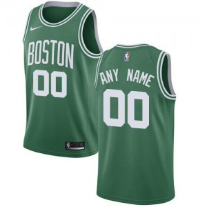 Nike NBA Maillot Personnalisable Basket Boston Celtics Enfant Icon Edition vert