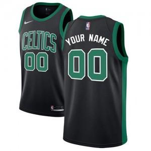 Nike NBA Maillot Personnalisé De Basket Celtics Noir Enfant Statement Edition