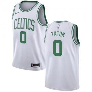 Maillots De Tatum Celtics Homme #0 Blanc Nike Association Edition