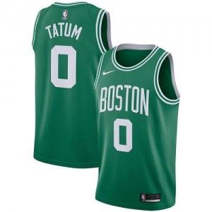 Nike NBA Maillot Basket Jayson Tatum Boston Celtics Homme vert Icon Edition #0