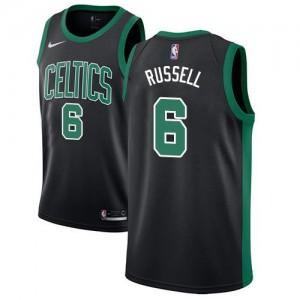 Nike NBA Maillots Russell Boston Celtics Statement Edition Noir Homme #6