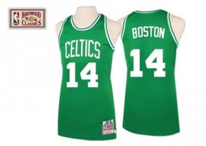 Mitchell and Ness Maillots Cousy Boston Celtics Throwback vert Homme No.14