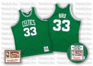 Mitchell and Ness NBA Maillots De Bird Celtics Homme Throwback vert No.33