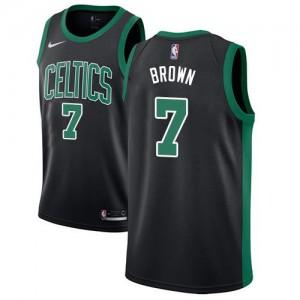 Nike NBA Maillot De Brown Boston Celtics Statement Edition Homme No.7 Noir