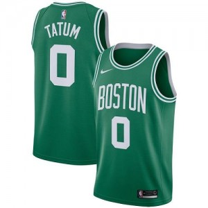 Maillot Jayson Tatum Celtics Icon Edition Nike vert Enfant No.0