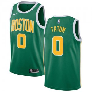 Nike NBA Maillots De Tatum Celtics vert Enfant Earned Edition No.0