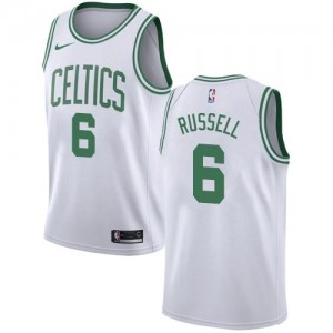 Nike Maillots Russell Boston Celtics Enfant Blanc #6 Association Edition