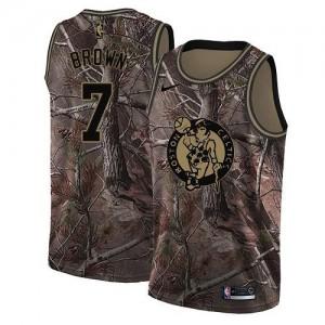 Maillot Basket Jaylen Brown Boston Celtics Realtree Collection Camouflage Nike Enfant No.7