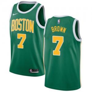 Nike NBA Maillots De Basket Jaylen Brown Boston Celtics Homme #7 vert Earned Edition