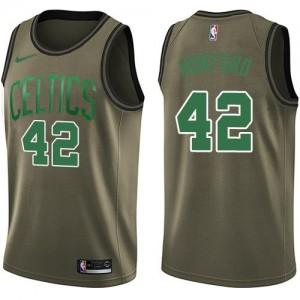 Maillots Al Horford Celtics Enfant Nike #42 vert Salute to Service