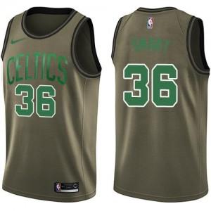 Nike NBA Maillots Basket Smart Celtics Salute to Service vert Enfant #36