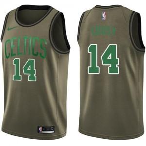 Nike Maillots De Cousy Celtics #14 Salute to Service Homme vert