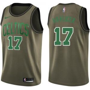 Nike Maillots Basket Havlicek Boston Celtics Salute to Service vert #17 Homme