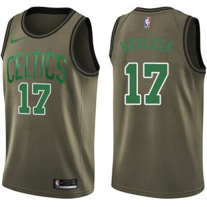 Maillots Basket John Havlicek Boston Celtics Salute to Service #17 Nike Enfant vert