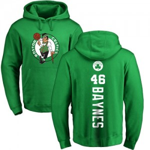 Nike NBA Sweat à capuche Baynes Celtics Homme & Enfant #46 Jaune vert Backer Pullover