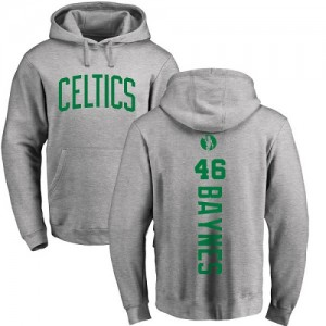 Nike Sweat à capuche De Basket Aron Baynes Celtics No.46 Pullover Ash Backer Homme & Enfant