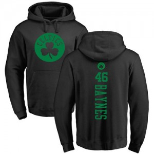 Nike NBA Sweat à capuche Basket Baynes Celtics Backer noir une couleur Pullover Homme & Enfant #46