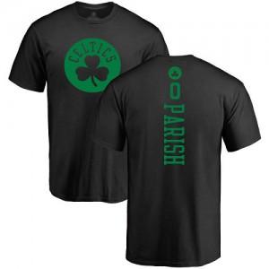 T-Shirts De Basket Robert Parish Celtics Homme & Enfant #0 Nike Backer noir une couleur