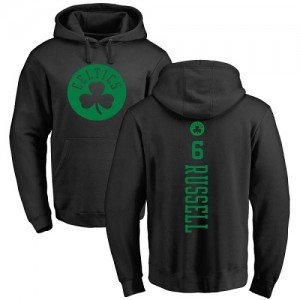 Nike Sweat à capuche Russell Boston Celtics Backer noir une couleur No.6 Pullover Homme & Enfant