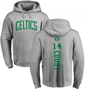 Nike NBA Sweat à capuche De Bob Cousy Boston Celtics Pullover Homme & Enfant #14 Ash Backer