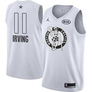 Maillot Kyrie Irving Celtics Jordan Brand Enfant Blanc No.11 2018 All-Star Game