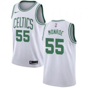 Nike NBA Maillot Basket Monroe Celtics Association Edition #55 Enfant Blanc