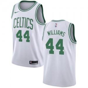 Nike Maillots Basket Williams Boston Celtics Association Edition Blanc Enfant #44