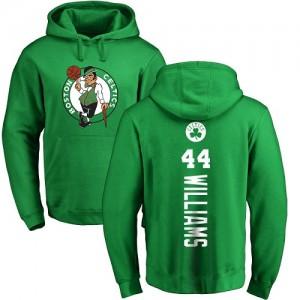 Hoodie Basket Williams Boston Celtics Pullover Nike No.44 Homme & Enfant Jaune vert Backer