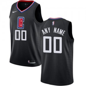 Nike Maillot Personnalise De Los Angeles Clippers Statement Edition Homme Noir