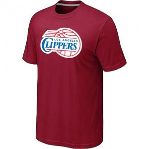 T-Shirt Los Angeles Clippers Big & Tall Primary Logo Homme Rouge