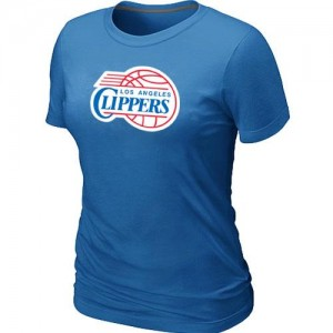 Tee-Shirt LA Clippers Big & Tall Primary Logo Bleu clair Femme
