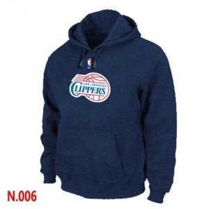 Hoodie De Basket LA Clippers Pullover bleu marine Homme