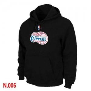 NBA Hoodie De LA Clippers Pullover Homme Noir