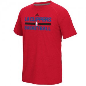 Adidas Tee-Shirt De Los Angeles Clippers Homme On-Court Climalite Ultimate Rouge