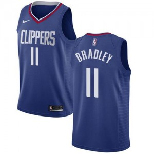 Nike Maillot De Basket Bradley Clippers No.11 Icon Edition Bleu Homme