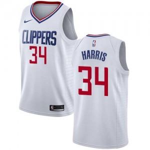Nike NBA Maillots De Basket Harris LA Clippers Blanc No.34 Association Edition Homme