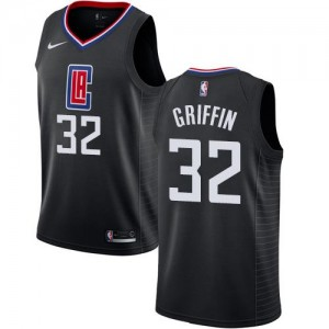 Maillot Blake Griffin Clippers No.32 Noir Enfant Statement Edition Nike