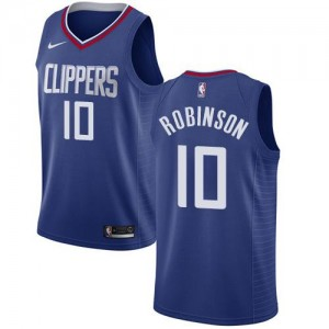 Maillot Basket Jerome Robinson LA Clippers Nike Bleu Icon Edition #10 Homme
