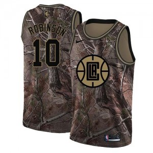 Nike NBA Maillots De Basket Robinson Los Angeles Clippers #10 Enfant Realtree Collection Camouflage