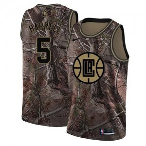 Nike Maillot De Basket Harrell Clippers Homme No.5 Camouflage Realtree Collection
