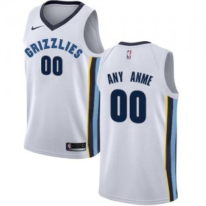 Nike Maillot Personnaliser De Basket Grizzlies Blanc Homme Association Edition