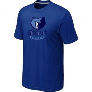 NBA Tee-Shirt Grizzlies Homme Bleu Big & Tall Primary Logo