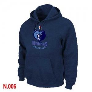 NBA Hoodie Grizzlies Homme bleu marine Pullover