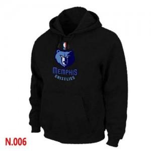Sweat à capuche Memphis Grizzlies Pullover Homme Noir