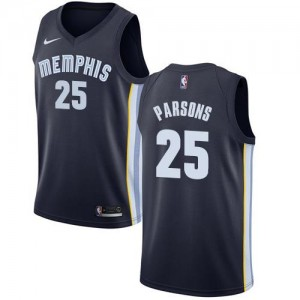 Nike Maillot De Basket Parsons Grizzlies No.25 Icon Edition Homme bleu marine