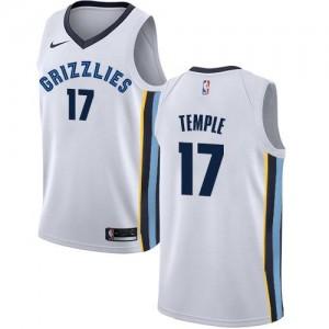 Maillots Basket Garrett Temple Memphis Grizzlies Association Edition Blanc Nike Enfant #17
