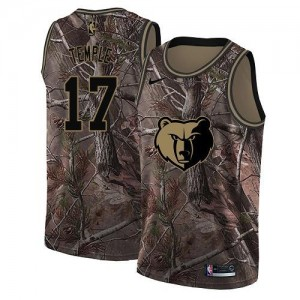 Maillot Temple Memphis Grizzlies No.17 Homme Nike Camouflage Realtree Collection