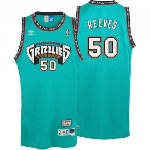 Adidas Maillot De Basket Reeves Memphis Grizzlies #50 Homme vert Hardwood Classics Throwback