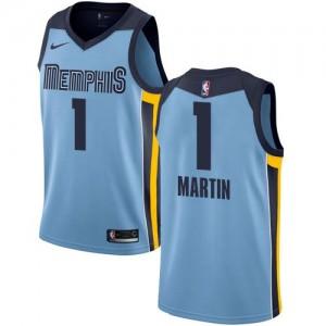Maillot Jarell Martin Memphis Grizzlies Nike Bleu clair Homme #1 Statement Edition